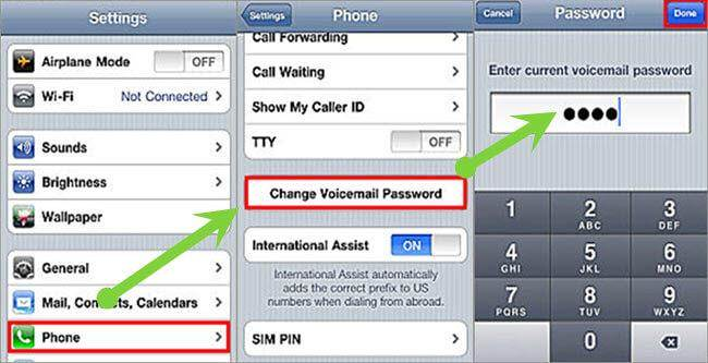 setting up voicemail on iphone manual how to reset voicemail password on iphone at amp t 5764