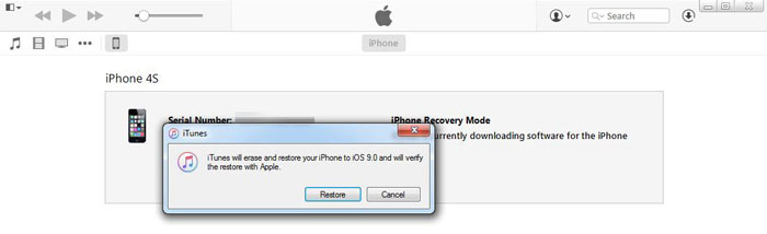 how to reset iphone 5c