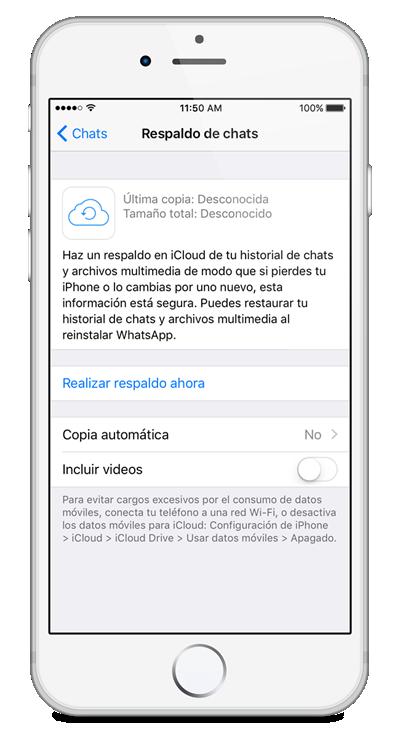 Respalda y restaura mensajes de whatsapp directamente