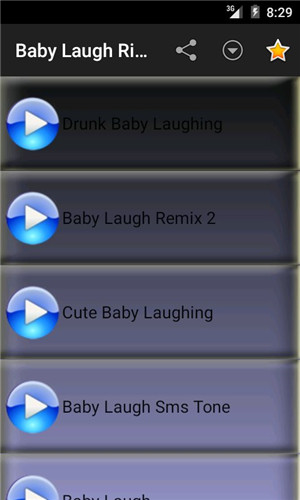 Ringtone Apps for Android-Baby Laugh Ringtones