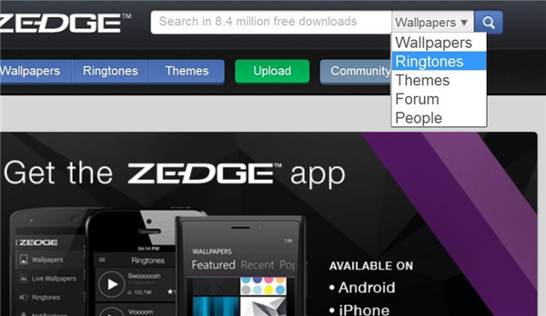 Best Ringtone Apps for Android to Make Your Phone Fun-Zedge step 4