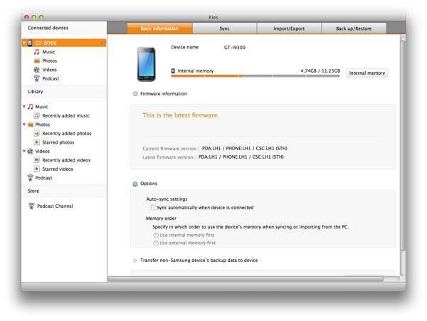 Kies.Telecharger Samsung Download Logiciel