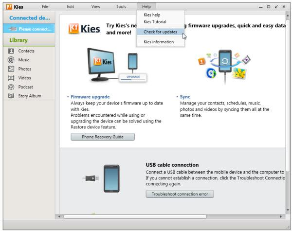 How to Download, Install, Uninstall and Update Samsung Kies