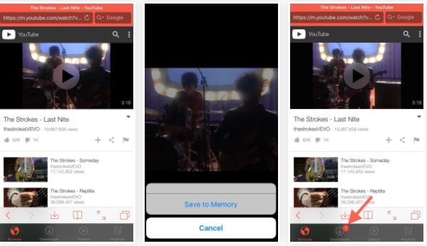 how to download a youtube video to camera roll