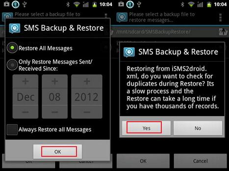 move sms from iphone to android