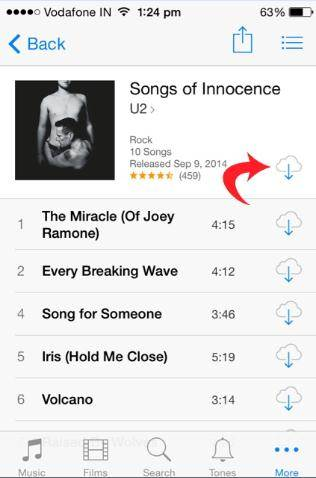 re-download songs from iCloud 04