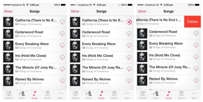 how to delete songs from iCloud 02