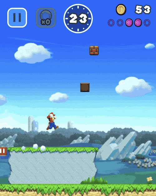 super mario run super star