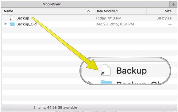 Hoe kun je een iPhone backup maken naar een externe HD met iTunes.