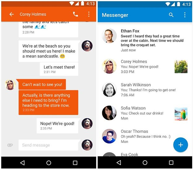 Top 13 best Text Message Apps for Android Devices