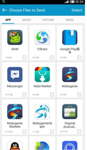 CShare - transfer data between iOS and Android devices