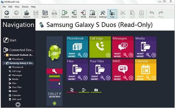 在iOS和Android设备之间传输数据 -  MOBILedit