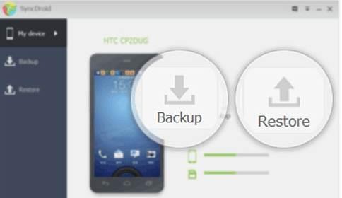 在iOS和Android设备之间传输数据 -  SyncDroid