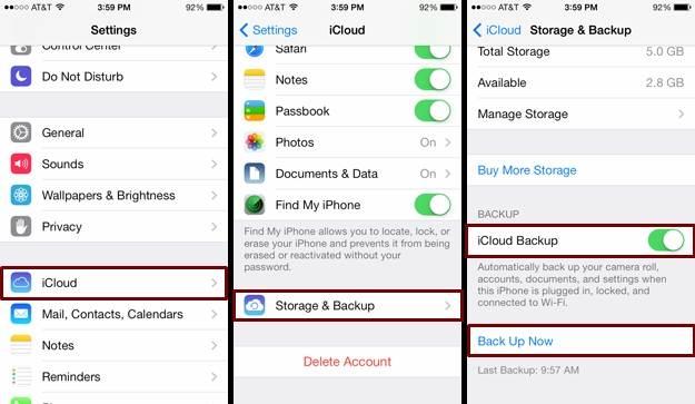 3 principales fa?ons de sauvegarder des messages texte iPhone
