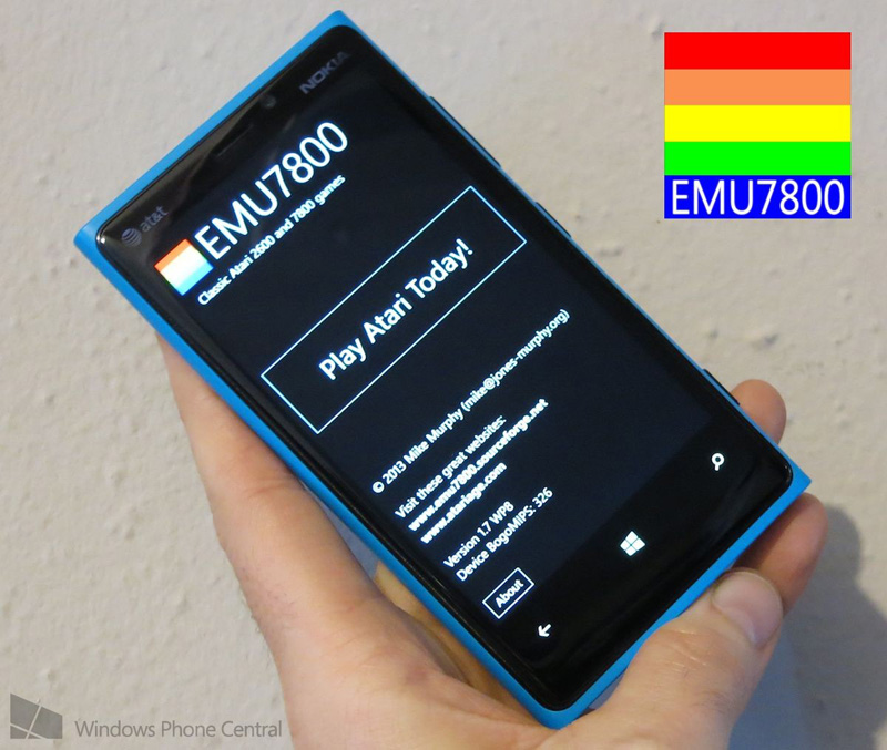 Top 4 game emulators for Windows Phone 8-EMU7800