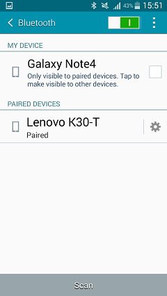 transfer data from samsung to huawei via bluetooth