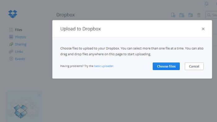 Use Dropbox to Transfer Photos from Computer to iPad