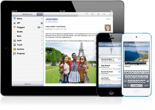 Transfira arquivos do PC para o iPad usando o e-mail