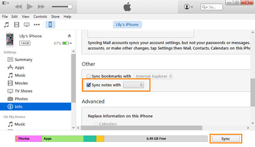 sync notes from mac to iphone how to transfer notes from iphone to android dr fone 1762