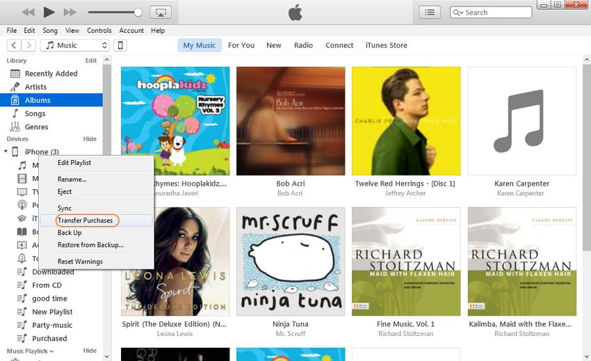 Wie man Apps vom iPhone auf iTunes überträgt