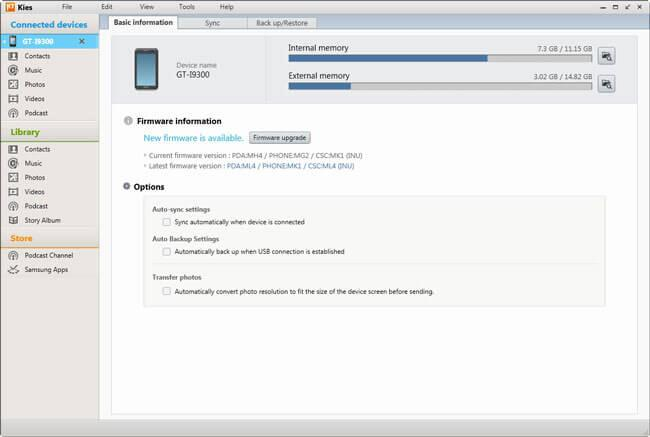 samsung android software download