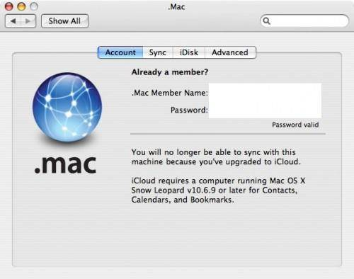 Cannot sign in to iCloud on Mac