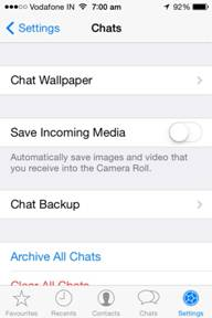 backup whatsapp messages-Chat Backup