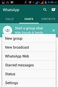 whatsapp online backup settings