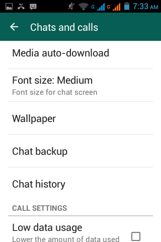 back up whatsapp messages via email