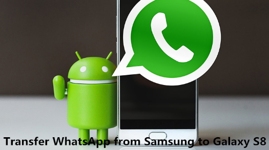 How to transfer whatsapp from Android to Samsung S9/S8