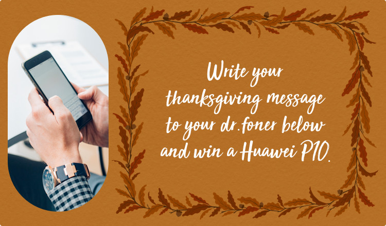 write thanksgiving message