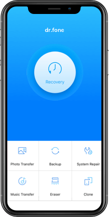 dr fone - Recover (iPhone Data Recovery)